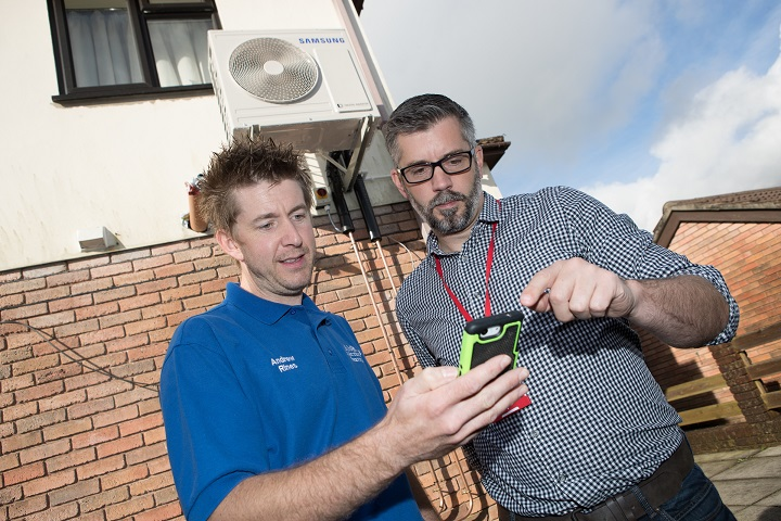 Passiv are delighted to announce the launch of their new Heat pump monitoring with MMSP – GSM service